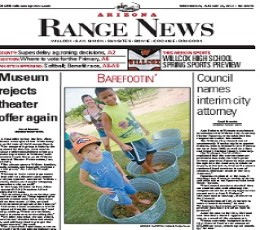 Arizona Range News epaper