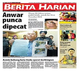 Harian Metro epaper - Today's Harian Metro Newspaper