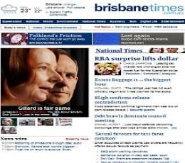 Times online dating in Brisbane
