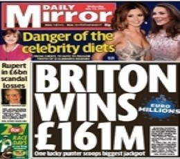 Daily Mirror Newspaper