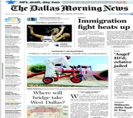 the dallas morning news epaper today 39 s the dallas. Black Bedroom Furniture Sets. Home Design Ideas
