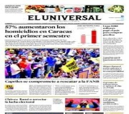 El Universal Newspaper