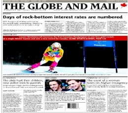 The Globe and Mail epaper