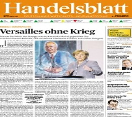 Handelsblatt Newspaper