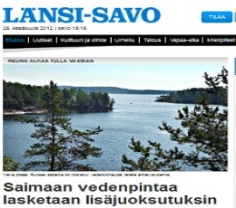 Länsi-Savo Newspaper