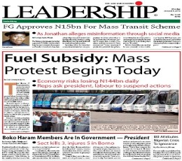 Leadership Newspaper