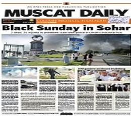 Muscat Daily epaper