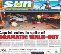 Namibian Sun epaper - Today's Namibian Sun Newspaper