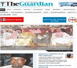 The Guardian Nigeria epaper