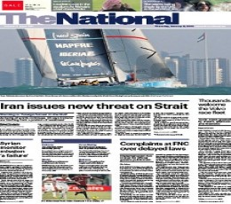 The National epaper - Today's The National Newspaper